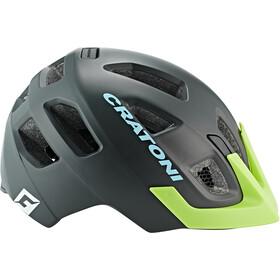 Cratoni Maxster Pro Helmet Kids black/lime matte